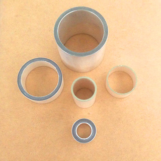 Piezoelectric ceramic cylindrical shape and tube components piezoelectric ceramic company