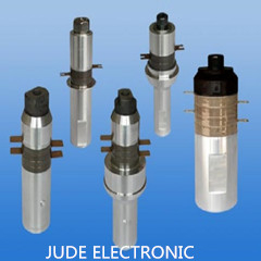 Ultrasonic welding transducer for matel and plastic punching transducer piezoelectric company