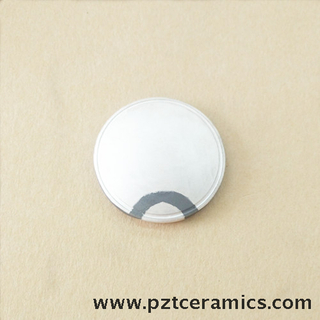 Piezoelectric Ceramic Focused Spherical Cap for Ultrasonic Cosmetic Instrument