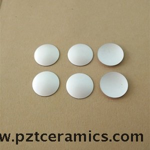 Piezoelectric Ceramic Spherical Cap Focused Crystal