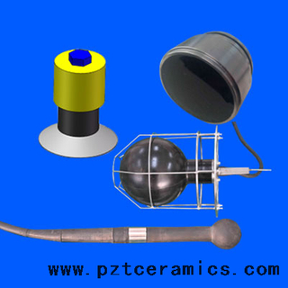 Ultrasonic Sound Transducer for Marine Detection